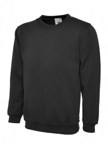10 x UC205 Black Sweatshirts Any Size