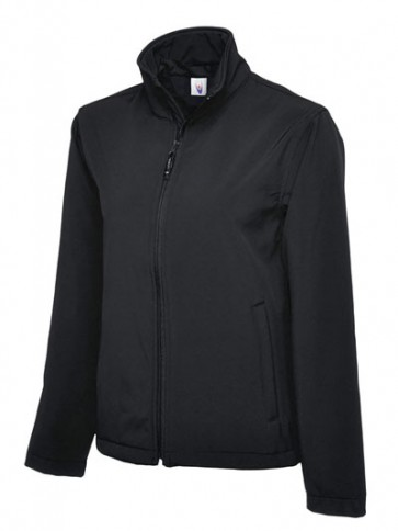 5 x UC612 Black Softshell Jackets
