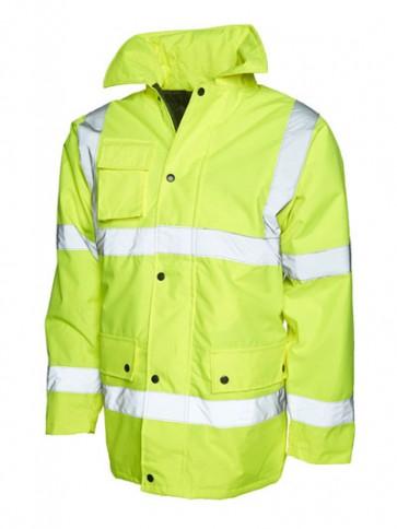 5 x UC803 Yellow Motorway Jackets