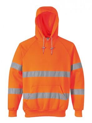 Portwest Hi-Vis Hooded Sweatshirt