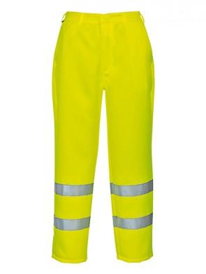 Portwest Hi-Vis Polly-Cotton Trousers
