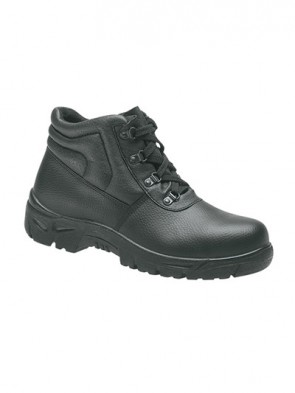 Grafters Black Leather Steel Toe Cap Safety Boots
