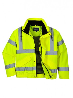 Portwest Hi Vis Breathable Bomber Jacket