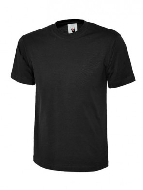 20 x UC301 Black T Shirts Any Size