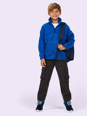 Childrens Full Zip Micro Fleece Jacket