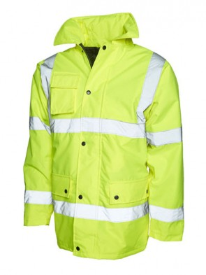 5 x UC803 Yellow Motorway Jackets