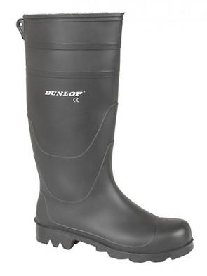 Dunlop Black Universal PVC Wellington Boots