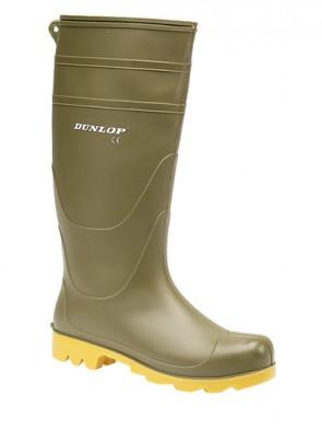 Dunlop Green Universal PVC Wellington Boots