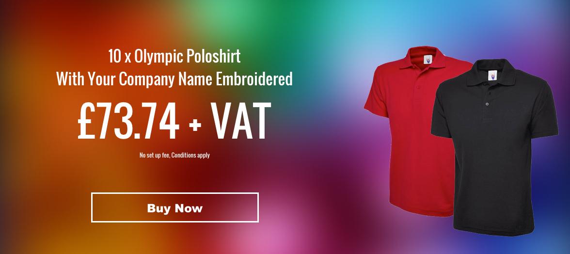 10 x Poloshirt offer