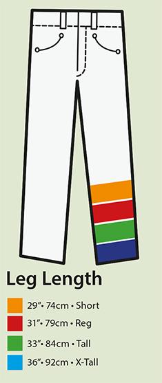 Portwest Leg Size Chart